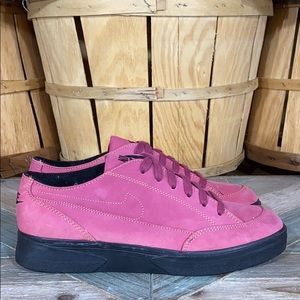👀RARE👀 VTG 90s Nike Blazer Low Leather Sneakers